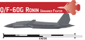 QF-60G Ronin Multiole UCAV by Afterskies