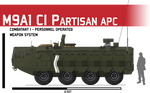 M9A1 APC ICV CI