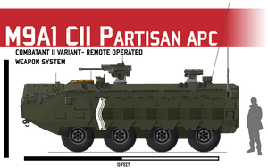 M9A1 APC ICV CII by Afterskies