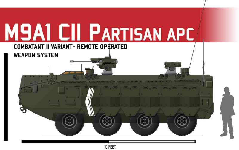 M9A1 APC ICV CII
