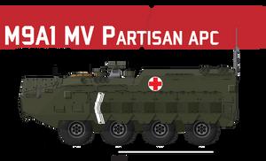 M9A1 MV Partisan APC