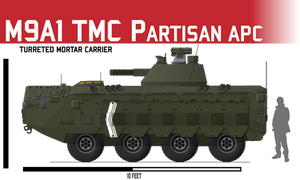 M9A1 Turreted Mortar Carrier