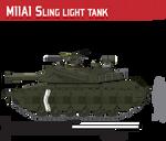 M11A1 Sling Light Tank