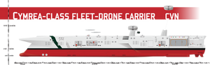 Cymrea-class Fleet Drone Carrier