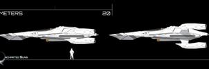 Mk I RI-76 Gryphon w/ Weapon Pod by Afterskies