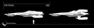 Mk I RI-76 Gryphon w/ Weapon Pod