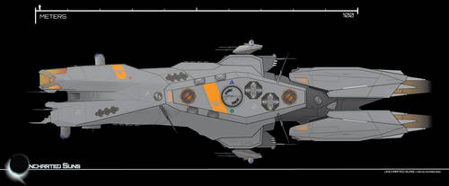 Destiny-class Cutter by Afterskies