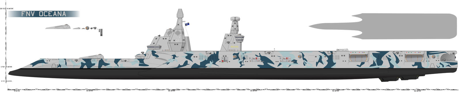Oceana-class [COMMISSION] by Afterskies