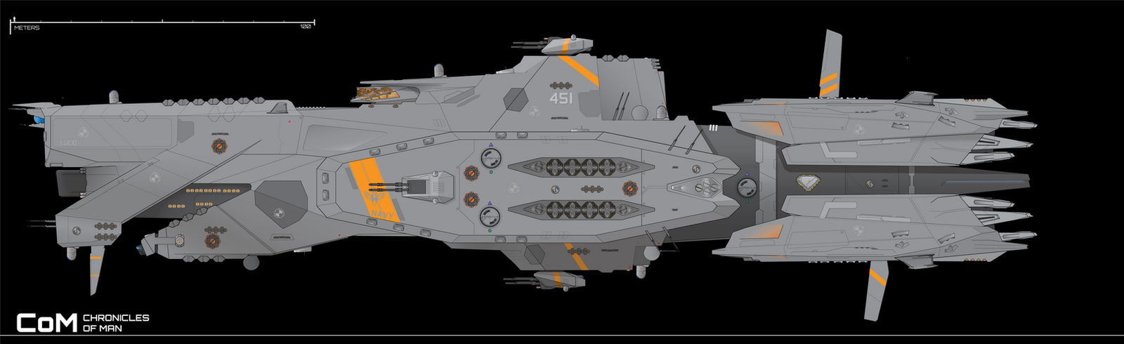 Lucid-class Frigate Redux by Afterskies