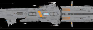Lodestar-class Destroyer Redux by Afterskies
