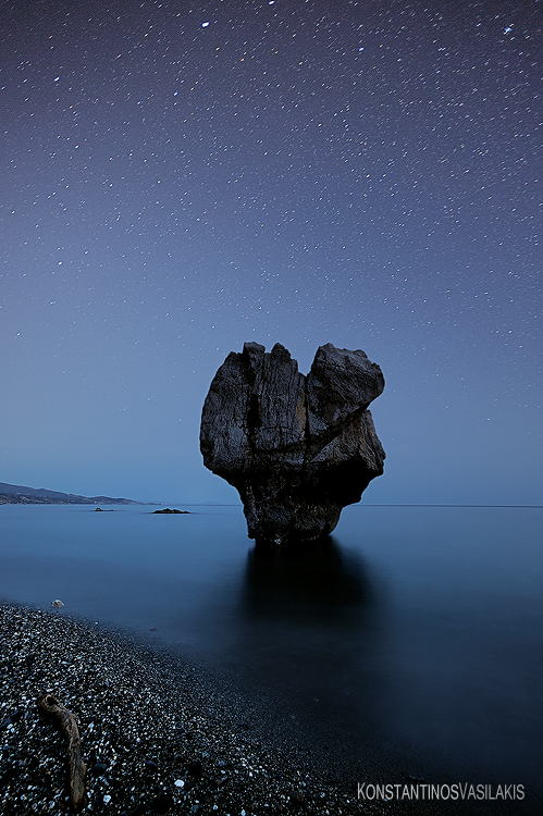 Sand Rock and Stardust by KirlianCamera