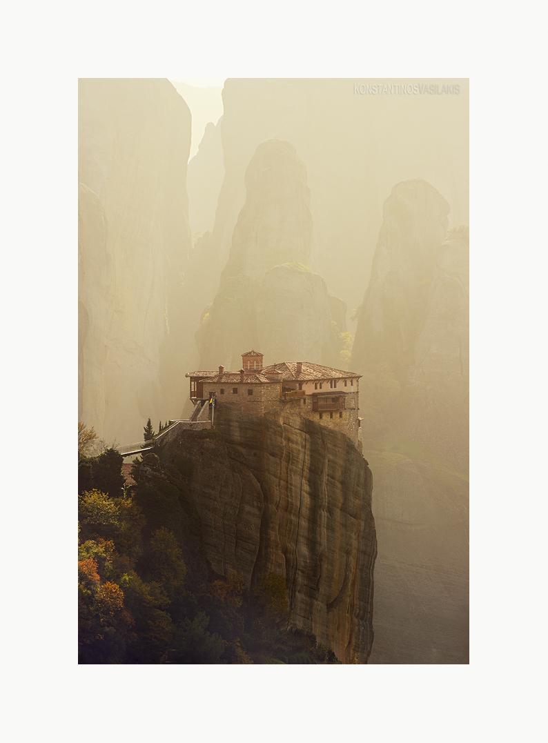 Meteora Monastery by KirlianCamera