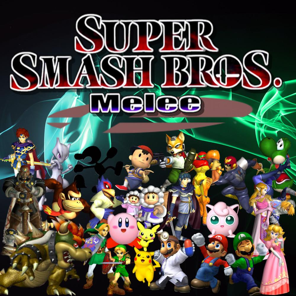 Super Smash Bros Melee By CaptainPenguin98