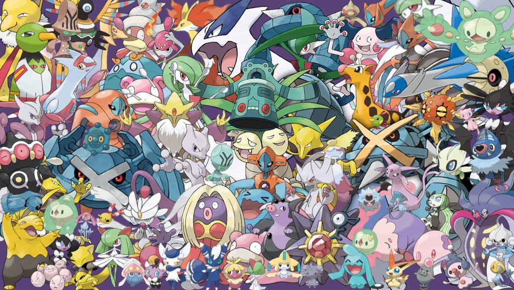 Psychic pokemon fight w o any powers spacebattles forums - All legendary pokemon background ...