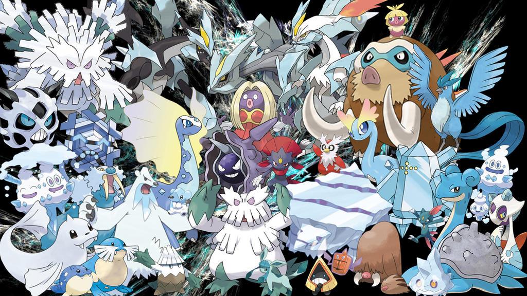 ice pokemon wallpaper by captainpenguin98 on deviantart