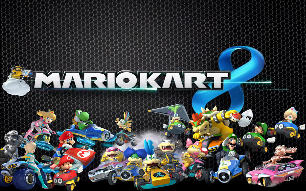 Mario Kart 8 Background: Mario Kart 8 Wallpaper By CaptainPenguin98 On DeviantArt
