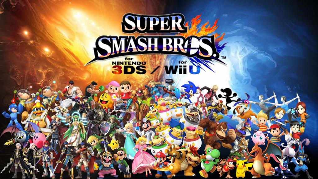 Super Smash Bros Wii U 3DS Wallpaper UPDATED