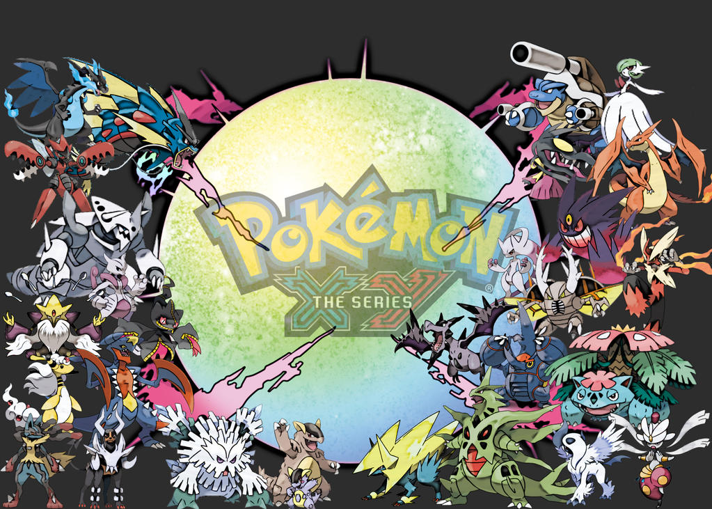 Pokemon X And Y Mega Evolution Wallpaper