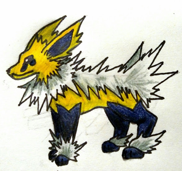 Pokemon mega jolteon