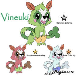Novis Starter (Grass) Vineuki! by tesagk