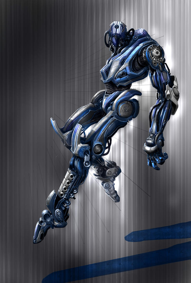 Charcter Design Cyborg SB2 by MedoK81