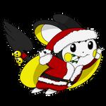 Flying Christmas Emolga