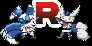 Team Rocket Meowstic