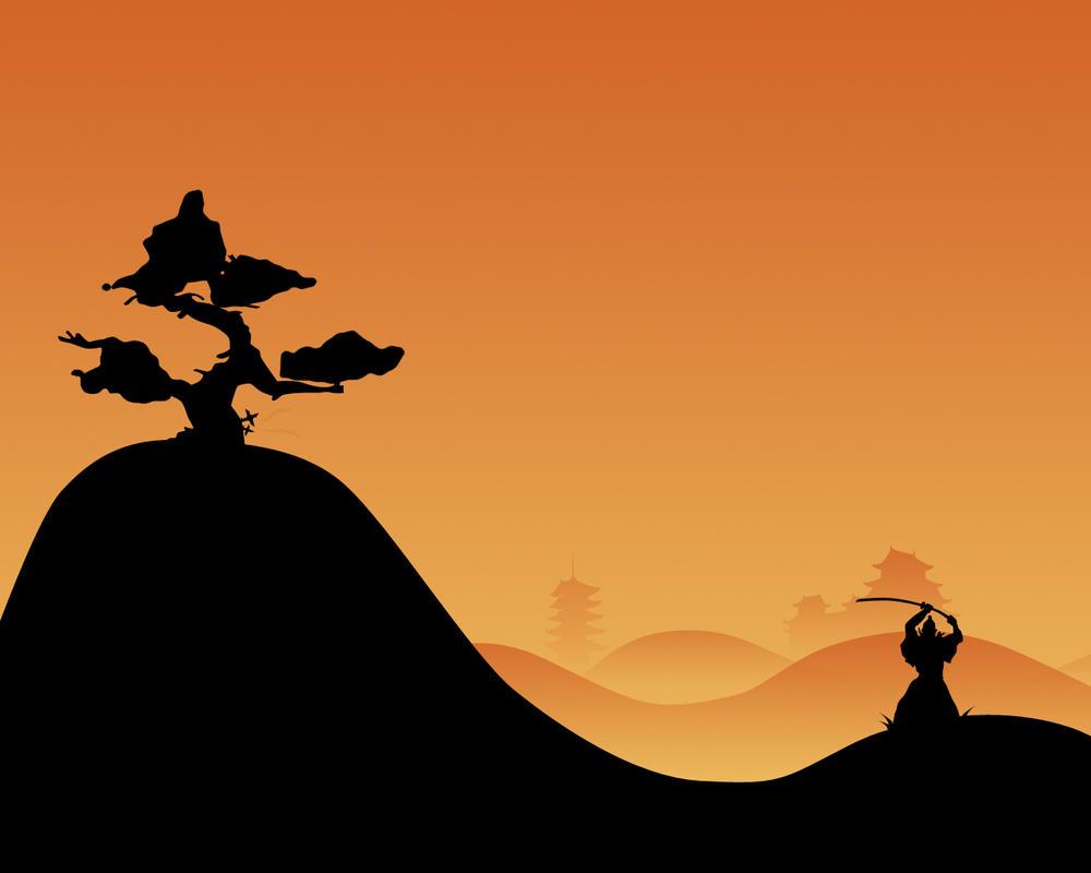 Samurai in the Rough by ghettofs