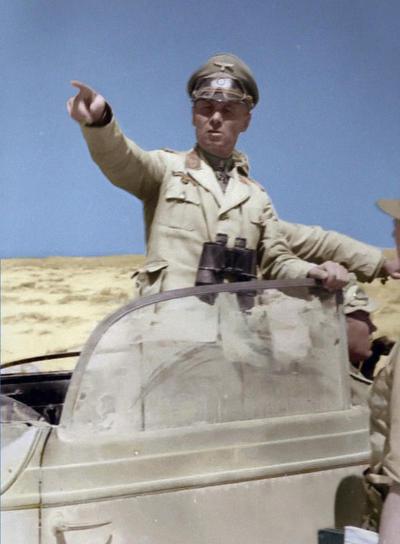 Rommel in North Africa by KraljAleksandar