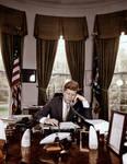JFK in Oval Office