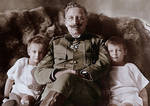 Kaiser with grandsons