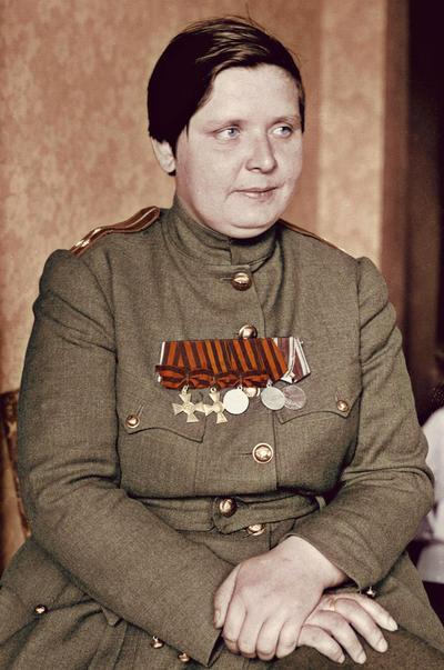 Maria Bochkareva by KraljAleksandar