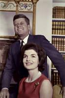 Kennedy and his wife by KraljAleksandar