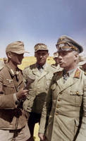 Rommel with reporter by KraljAleksandar