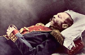 Alexander II on his deathbed by KraljAleksandar