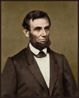 Abraham Lincoln in 1861 by KraljAleksandar