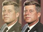 JFK photo Retouch