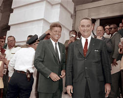 Kennedy and Johnson by KraljAleksandar