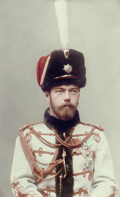 Tsar Nicholas II in 1895 by KraljAleksandar
