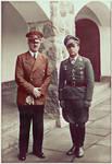 Hitler with Major Helmut Paul Emil Wick