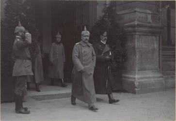 Kaiser Wilhelm II and Prince Heinrich