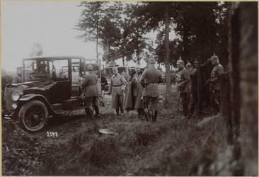 Kaiser Wilhelm II in Poix-Terron