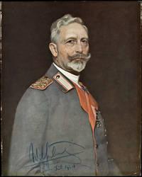 Portrait of Wilhelm II,1924