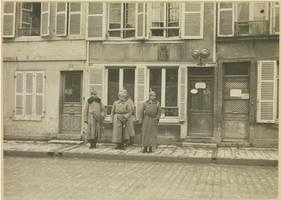 Kaiser Wilhelm II in Vouziers, France