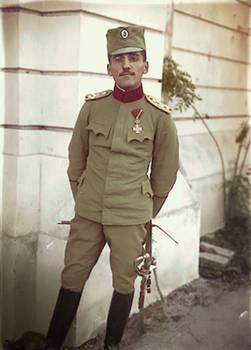 Serbian Prince-Regent Aleksandar Karadjordjevic