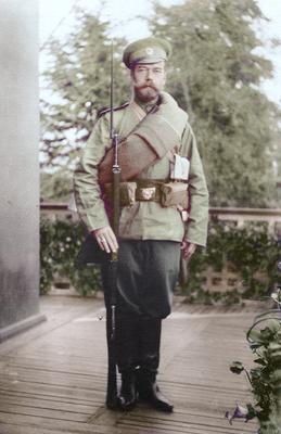 Nicholas II testing out...