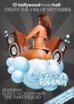 Urban Foam Party flyer