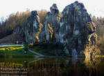 The beautiful Externsteine Stones - Germany by TheFunnySpider
