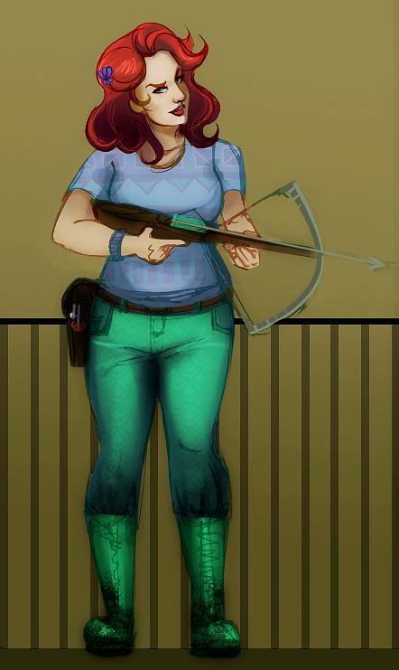 Disney Fallout: Ariel by SarahFoster