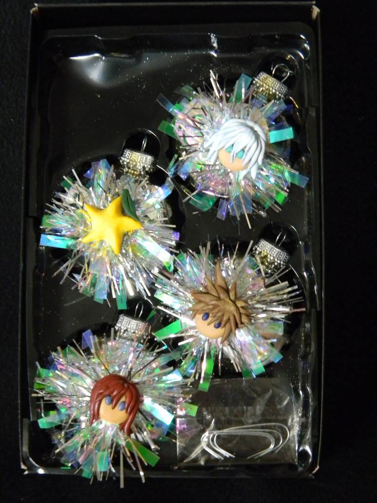 Kingdom Hearts Christmas Ornaments By Unoko412 On Deviantart